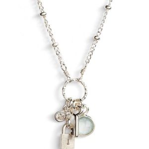 New Dogeared Unlock Your Dreams Charm Necklace